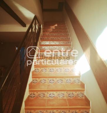 escalera superior