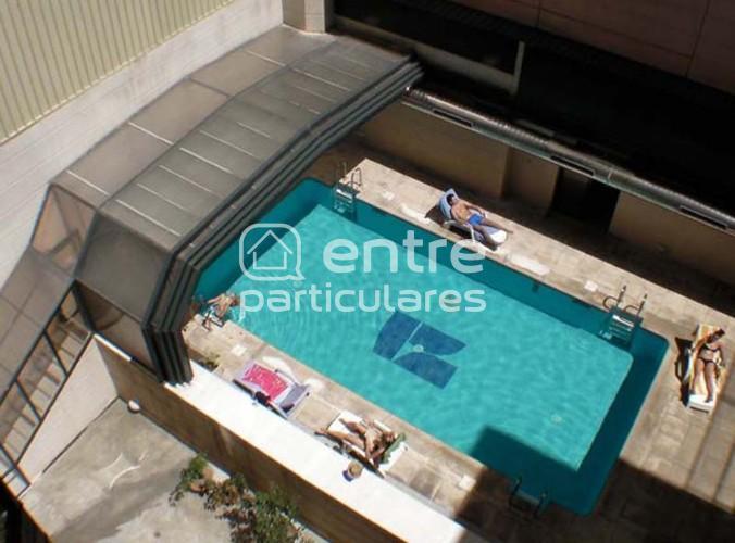 Apartamento con piscina y en el centro de Madrid