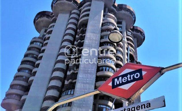 Metro Cartagena alquiler piso madrid cetro rent