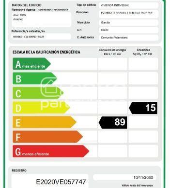 Certif. energético