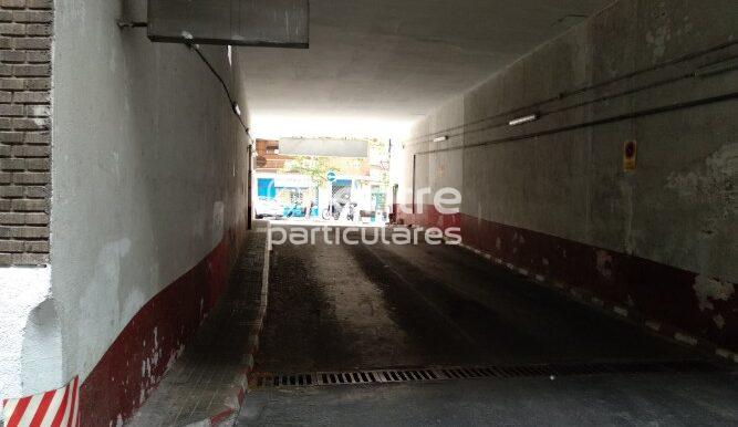 Coslada Tunel salida