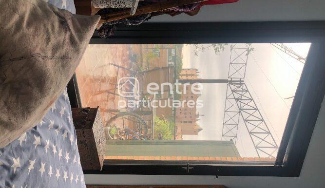 Dormitorio de día vistas ventanal