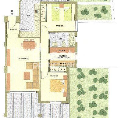 Plano casa Bajo C DOS