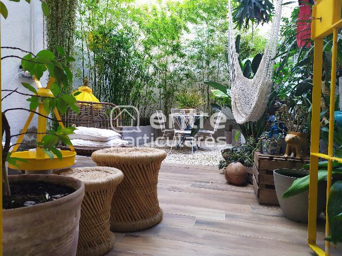 Espectacular loft duplex de diseño con jardín